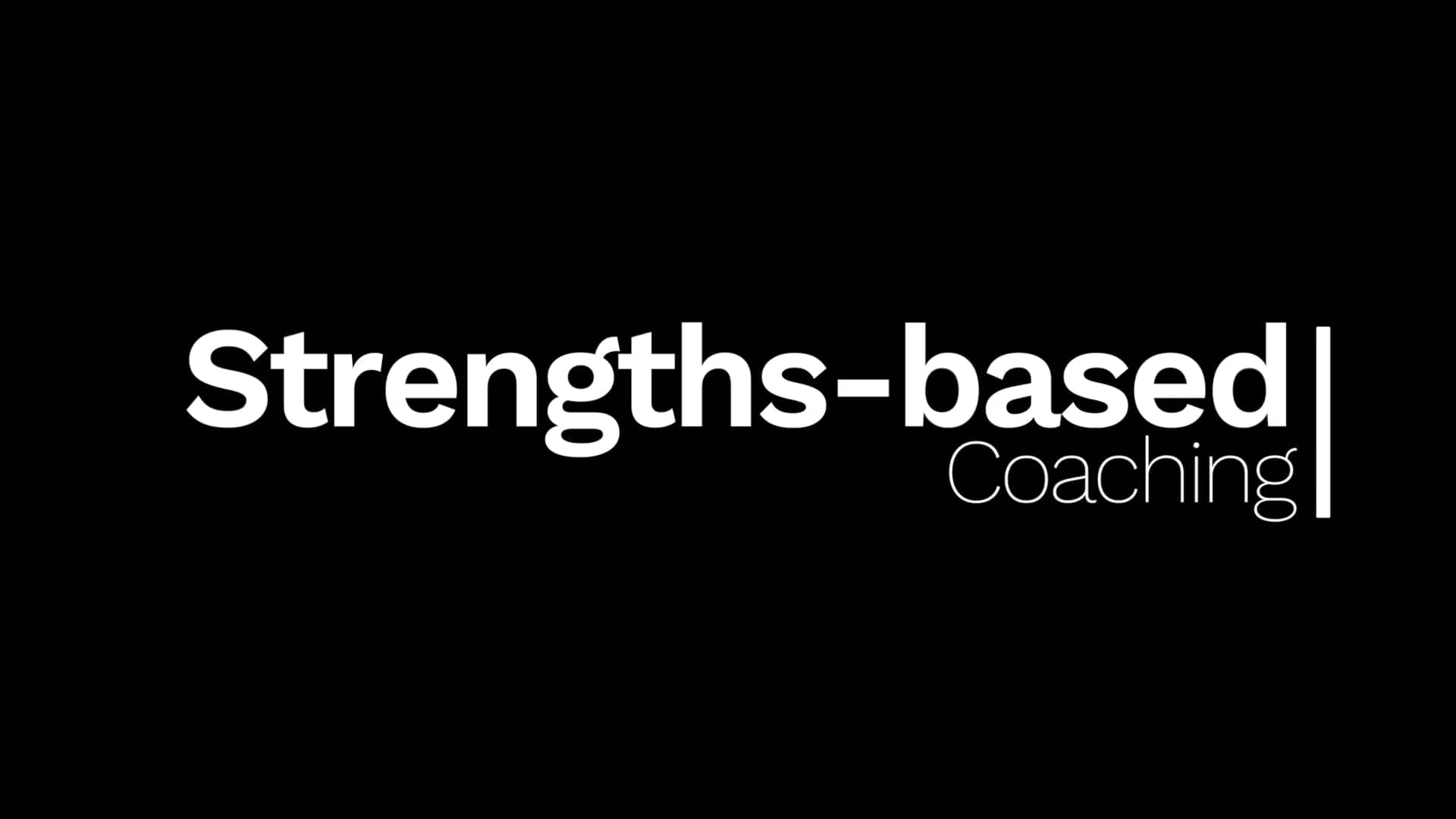 Strengths-Based Coaching: Dr. Jeffrey Auerbach